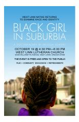 BLACK GIRL IN SUBURBIA